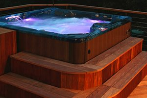 Hot Tub Lighting Lehigh Valley Pocono Pennsylvania, Halo Lighting Hot Tubs