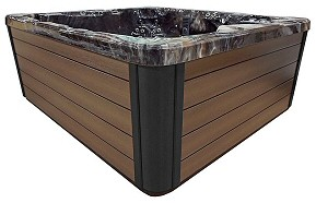 PDC Spa Brown Cabinet Color, Lehigh Valley Hot Tubs, Pocono Hot Tubs, Pennsylvania Hot Tubs