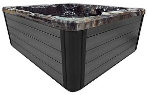 PDC Spa Smoke Gray Cabinet Color, Lehigh Valley Hot Tubs, Pocono Hot Tubs, Pennsylvania Hot Tubs