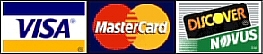 PDC Spa & Pool World Accepts Visa, Master Card & Discover