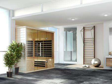 Saunas - Infrared Saunas - Far Infrared - InfraSaunas - Steam Saunas - Sauna Kits - Sauna Showroom