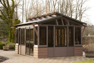 Spa Gazebos Fully Enclosed Allow Year Round Enjoyment With Friends And Family