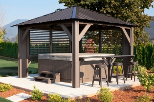Lattice Spa Gazebos Are Now Semi Enclosed Gazebos Available Nationally, Lehigh Valley and Pennsylvania
