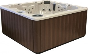 PDC Spa Espresso Cabinet Color, Lehigh Valley Hot Tubs, Pocono Hot Tubs, Pennsylvania Hot Tubs