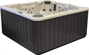 PDC Spa Graphite Cabinet Color, Lehigh Valley Hot Tubs, Pocono Hot Tubs, Pennsylvania Hot Tubs